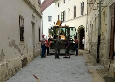 GRAD VARAŽDIN – Rekonstrukcija Habdelićeve ulice – 2015. god.