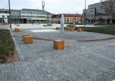 GRAD VARAŽDIN – Rekonstrukcija Kapucinskog trga – 2013. god.