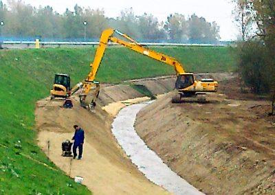 HRVATSKA ELEKTROPRIVREDA – Drenažni kanal HE Varaždin – 2012. god.