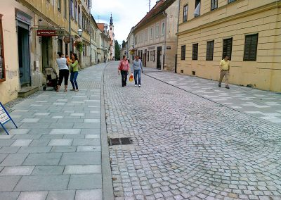 GRAD VARAŽDIN – Rekonstrukcija Draškovićeve ulice – 2014. god.